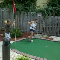 Photo taken at Castle Cove Mini Golf & Arcade by Shannon G. on 7/29/2012