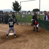 Photo taken at Alum Rock Little League Fields by Marshall S. on 3/30/2012