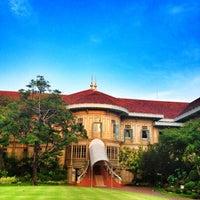 Photo taken at Vimanmek Mansion by Tukta N. on 4/25/2012