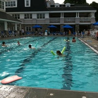 Photo taken at Greenwich Water Club by Jim C. on 6/19/2012