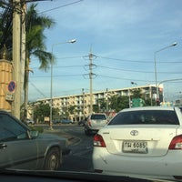 Photo taken at NIDA Intersection by atsa s. on 3/5/2012