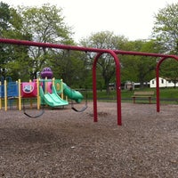 Photo taken at Crowshaw Park & Playground by Kalin W. on 4/30/2012