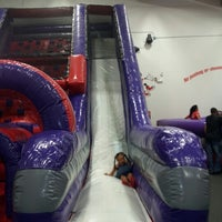 Photo taken at Bounce U by Rocky on 7/28/2012