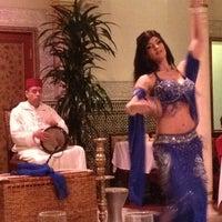 Photo taken at Restaurant Marrakesh by Victoria D. on 4/11/2012