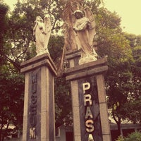 Photo taken at Museum Taman Prasasti by Lala T. on 6/2/2012