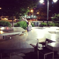 Photo taken at Two Too Large Tables - Hudson River Park by Patrick G. on 6/10/2012