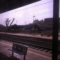 Photo taken at Stazione FS Bagheria by Simona D. on 8/8/2012