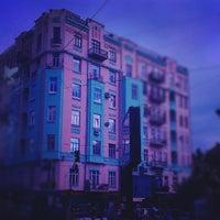 Photo taken at Ботанічна площа by Vlad F. on 6/26/2012