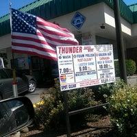 Photo taken at Thunder Car Wash by Tim B. on 8/3/2012