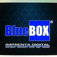 Photo taken at Blue Box Print by Alonso M. on 2/20/2012