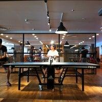 Photo taken at Shibuya Ping Pong Club by hasepai on 8/19/2012