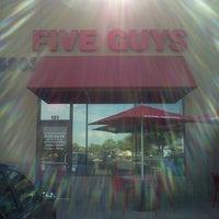 Photo taken at Five Guys by Langston M. on 6/3/2012