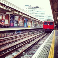 Photo taken at Hammersmith London Underground Station (Circle and H&C lines) by Ming Y. on 3/17/2012