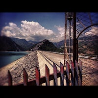 Photo taken at Lago di Bomba by Francesco C. on 8/21/2012