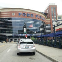 Photo taken at Ford Field by Monica T. on 8/16/2012