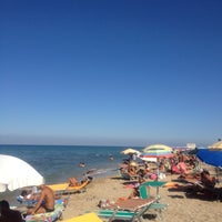 Photo taken at Crazy Bull On The Beach by Benedetta L. on 8/30/2012