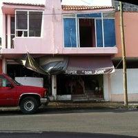 Photo taken at Super Don Juan 1 by Juan Manuel G. on 7/5/2012