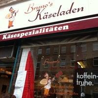 Photo taken at Brunos Käseladen by Stephanie F. on 9/13/2012