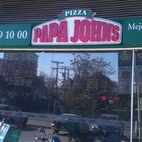 Photo taken at Papa John's by Matias I. on 7/16/2012