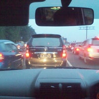 Photo taken at Gerbang Tol Pondok Gede Timur by asif l. on 6/10/2012
