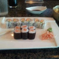 Photo taken at Okinawa- Sushi & Hibachi Steak House by Darrius T. on 4/5/2012