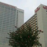Photo taken at Sheraton Greensboro at Four Seasons by TimelessLisa M. on 8/8/2012