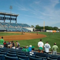 Photo taken at George M Steinbrenner Field by Jocelyn L. on 3/17/2012
