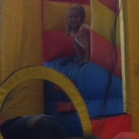 Photo taken at Bounce And Play by Glen Q. on 4/1/2012
