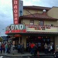 Снимок сделан в Bagdad Theater & Pub пользователем Janel P. 4/18/2012