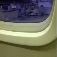 Photo taken at Gate 5 by Jo H. on 2/11/2012