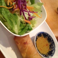 Photo taken at Peppermint Thai & Sushi by Terree S. on 8/28/2012