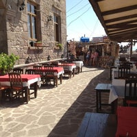 8/22/2012 tarihinde Gulsen A.ziyaretçi tarafından Assos Antik Liman'de çekilen fotoğraf