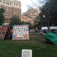 Photo taken at Occupy K St. by Jay M. on 5/17/2012