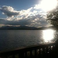 Photo taken at fern lake by Sara M. on 9/9/2012