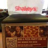 Photo taken at Shakey's Pizza Parlor by Trisha C. on 5/10/2012