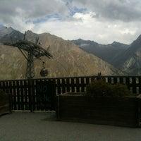 Das Foto wurde bei Bergrestaurant Hannig von Isabelle Bachmann am 8/24/2012 aufgenommen
