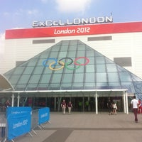 Photo taken at ExCeL London by Maria K. on 8/10/2012