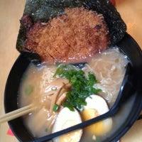 Photo taken at Menya Japanese Noodle Cafe by Alexander Y. on 6/16/2012