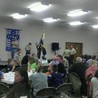 Photo taken at Schoeneck Moravian Church by Daniel D. on 4/28/2012