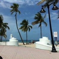 Photo taken at Fort Lauderdale Beach by Tony M. on 7/18/2012