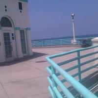 Photo taken at Manhattan Beach Pier by Neecie on 5/19/2012