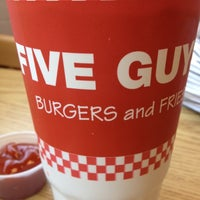 Photo taken at Five Guys by Aaron A. on 3/30/2012