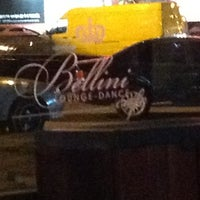 Photo taken at Bellini Lounge Dance Cafe by Alena T. on 5/6/2012