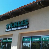 Photo taken at Pickles-Deli & Restaurant by Robin F. on 4/21/2012
