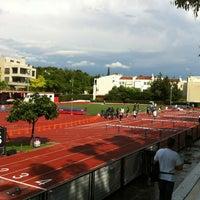 Photo taken at Δημοτικό Στάδιο Φιλοθέης by Ioannis P. on 5/30/2012