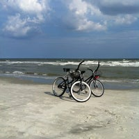 Photo taken at South Forest Beach by Laurie B. on 8/15/2012