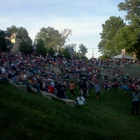 Photo taken at Warren Community Amphitheatre by Joshua N. on 6/8/2012