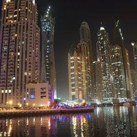 Photo taken at Dubai Marina Walk by Varghese on 6/16/2012