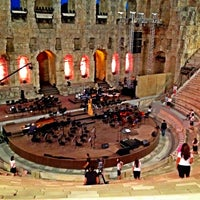 Photo taken at Herod Atticus Odeon by Domenico L. on 8/31/2012