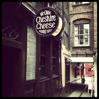 Photo taken at Ye Olde Cheshire Cheese by Adrian K. on 7/19/2012